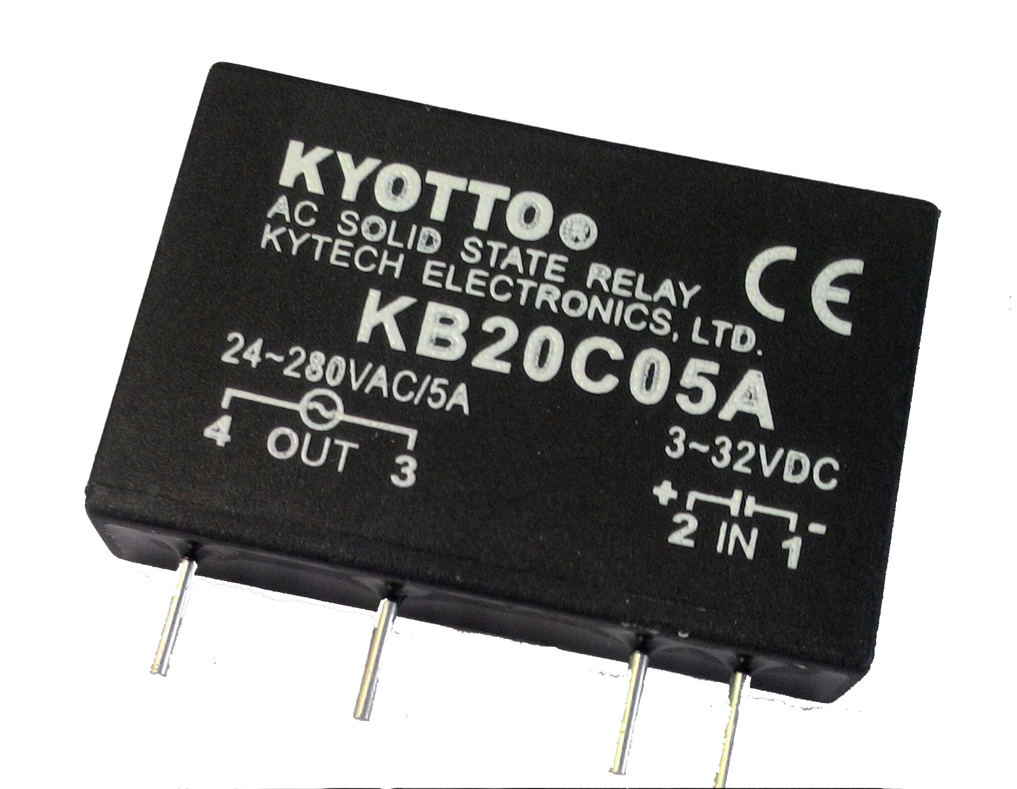 Kytech Electronics Ltd Solidstaterelay Schematic Solid State Relay Ssr Ka Series Dc Ac280vac